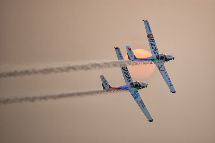 Aerosparx Represent Team GB For Saudi National Day Spectacular