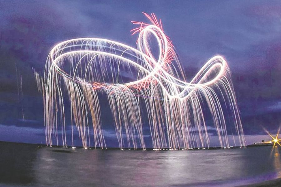 AeroSPARX bring the sparks at Herne bay Airshow